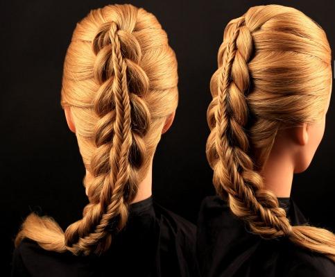 Прически с косами на средние волосы, длинные. Французская, греческая, коса на бок, вокруг головы, с челкой, на свадьбу