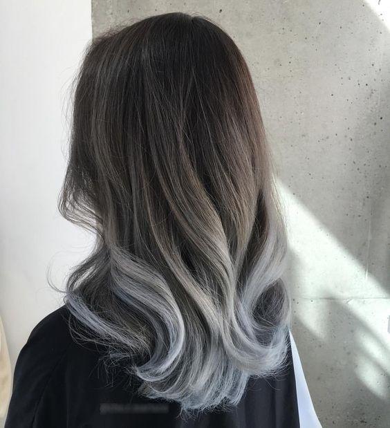 Серые цвета красок для волос: Эстель, Капус, Гарньер, Шварцкопф, Паллет, Лонда, Лореаль