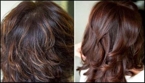 Тонирование волос на темные волосы после осветления, мелирования. Фото, как сделать в домашних условиях