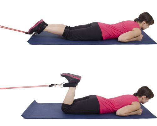 Упражнения с эспандером для женщин для пресса, трицепса, ягодиц, спины, рук, «восьмерка», «лыжника» в домашних условиях