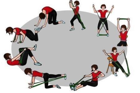 Упражнения с резиновой лентой для женщин, спины, ног, на пресс. Как делать в домашних условиях. Видео-уроки