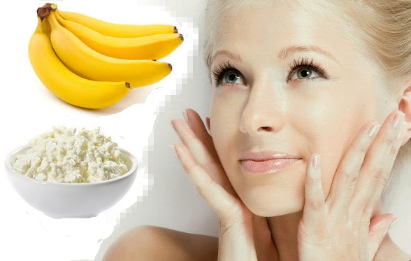 Маска из банана для лица против морщин