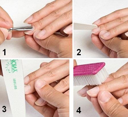 Наращивание ногтей гелем в домашних условиях. Материалы, видео уроки пошагово с фото для начинающих