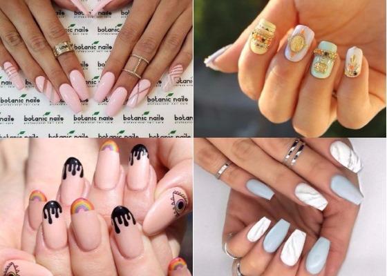 Маникюр гель-лаком. Фото, идеи на короткие и длинные ногти. Французский, шеллак, со стразами, втиркой, блестками