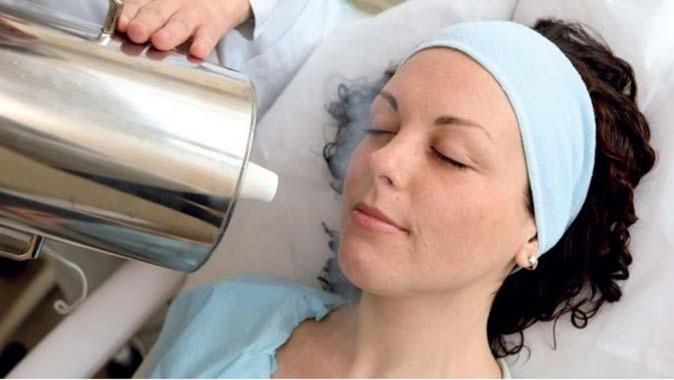 Криомассаж лица жидким азотом - что это, как делается, показания и противопоказания, результаты. Цена, отзывы, фото