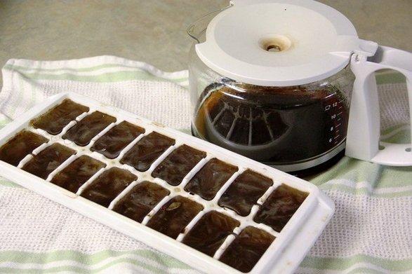 Лёд для лица от морщин. Польза и вред, рецепты с молоком, ромашкой, алоэ, петрушки, кофе, маслами, лимоном