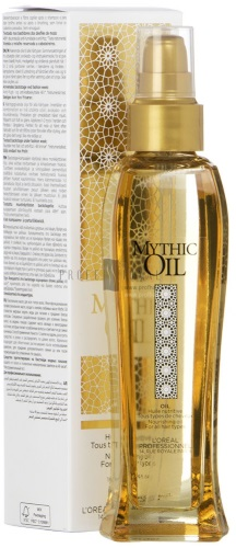 Масло для волос Лореаль профессионал, Mythic oil, Роскошь 6 масел, экстраординарное, осветляющее. Отзывы
