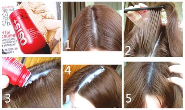 Пудра для волос для объема. Отзывы Эстель, Тафт, Osis, got2b, Капус, Матрикс. Как пользоваться