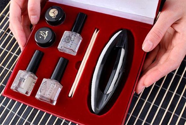 Японский маникюр: что это такое, P-shine, Masura, наборы и технология выполнения пошагово с фото