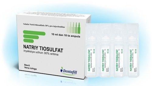 Тиосульфат натрия. Инструкция по применению для очищение организма, похудения, при аллергии, псориазе, от пигментных пятен на лице. Польза и вред в гинекологии