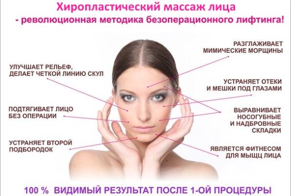 Хиромассаж лица, тела. Что это такое, эффект, испанский, хиропластический, бесконтактный. Как делать, противопоказания