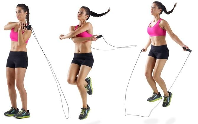 Прыжки на скакалке для похудения. Таблица против целлюлита, сколько сжигается калорий. Польза и вред, техника выполнения, результаты