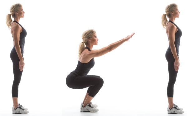 Комплекс упражнений с гантелями для девушек в домашних условиях