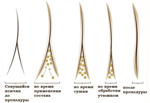 Керапластика волос. Что это такое, показания, разница с ламинированием, ботоксом