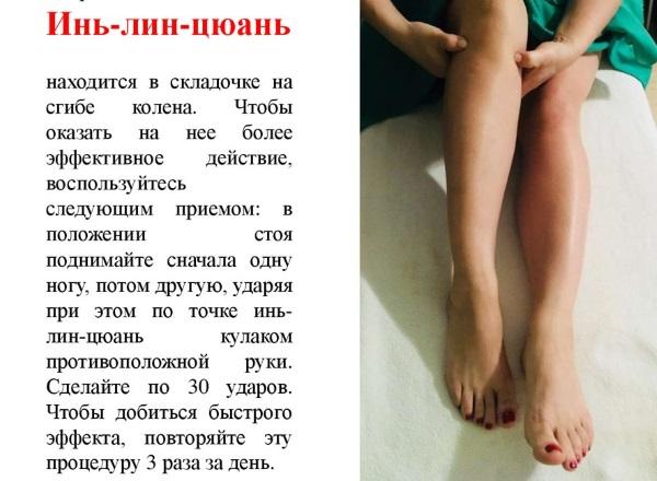 Точки на теле для похудения живота, боков, бедер. Акупунктура тела человека, схема, фото, видео