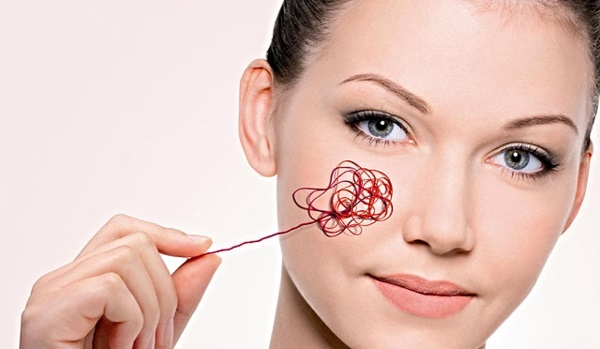 Удаление капилляров на лице лазером. Как проходит процедура, противопоказания, последствия, цена, отзывы