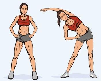 Упражнения, чтобы убрать бока и живот для женщин в тренажерном зале, домашних условиях