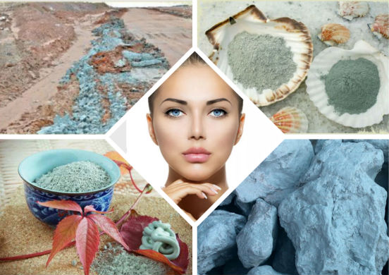 Голубая глина для лица. Свойства и применение, польза и вред, как использовать