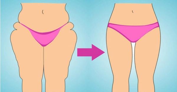Как похудеть в ляшках быстро и эффективно. Упражнения на неделю в домашних условиях