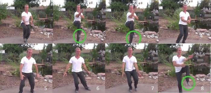Тай чи - китайская гимнастика для начинающих. Утренний комплекс, видео-уроки
