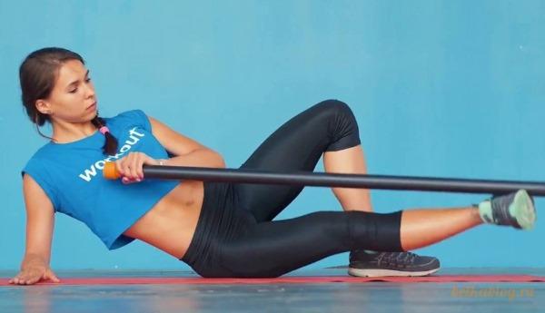 Упражнения с бодибаром для женщин для ягодиц и бедер, позвоночника, рук, спины. Как выполнять