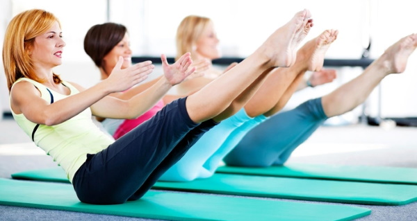 Упражнения пилатеса в домашних условиях. Видео-уроки для начинающих