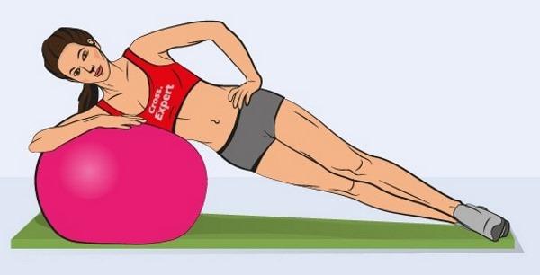 Упражнения для нижней части пресса для женщин