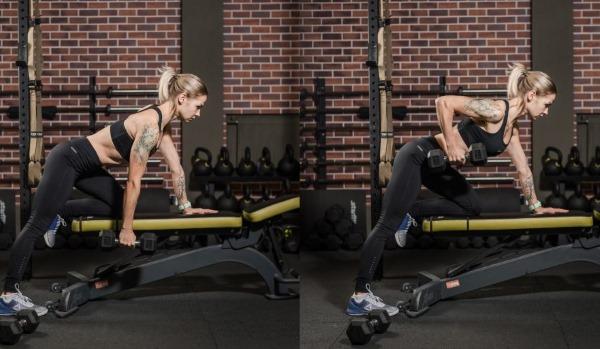 Упражнения на дельты в тренажерном зале для девушек. Как накачать, комплекс