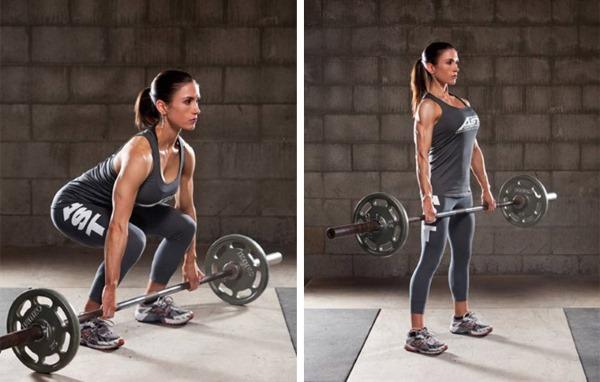 Упражнения на трапециевидную мышцу спины с гантелями для женщин