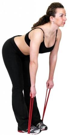 Занятия с резинкой для фитнеса. Упражнения для всего тела, ног, ягодиц, на пресс женщин