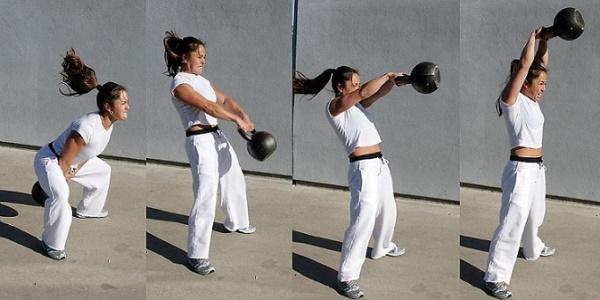 Комплекс упражнений с гирей для начинающих в на все группы мышц