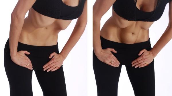Как накачать поперечную мышцу живота. Упражнения тренировки