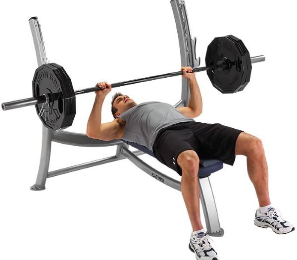 Поднятие гантелей перед собой. Какие мышцы работают, как правильно делать стоя, сидя, техника