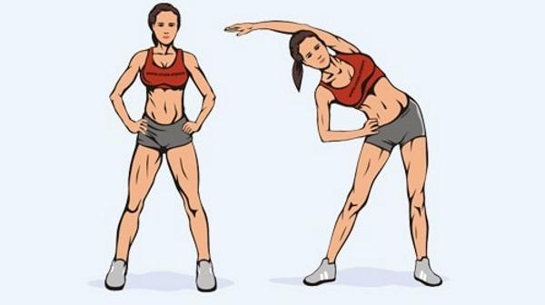 Упражнения на косые мышцы живота для женщин дома, в тренажерном зале