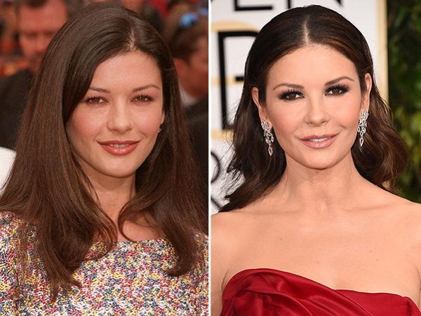 Кэтрин Зета-Джонс. Фото в молодости, сейчас, без макияжа, до и после пластики, биография