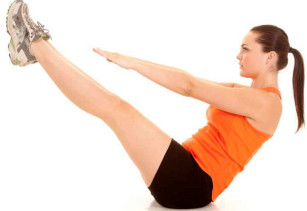 Подъем корпуса на пресс, лежа на спине, наклонной скамье с фиксацией ног, гирей, весом. Какие мышцы работают