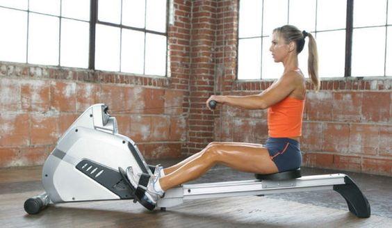 Тренажеры Гребля (гребные) для дома. Какие мышцы работают, какой лучше
