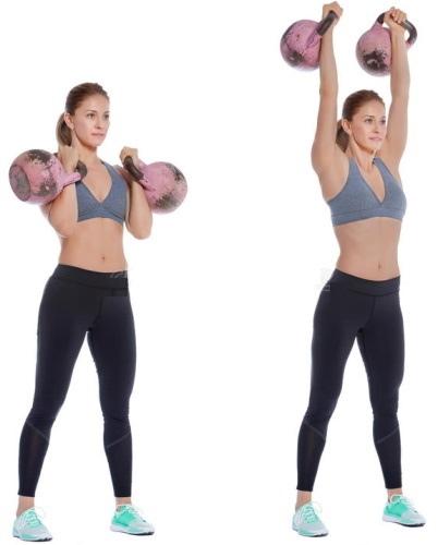 Упражнения с гирями. Базовый комплекс для начинающих