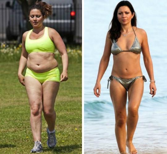 Фигура Яблоко. Фото женщин после похудения, упражнения
