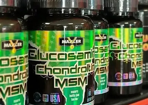 Макслер Глюкозамин Хондроитин МСМ (Glucosamine Chondroitin MSM). Отзывы